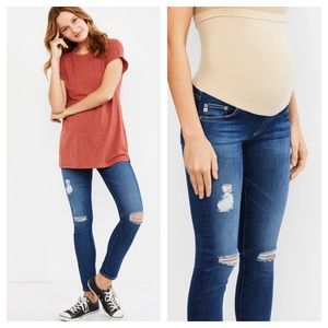 AG Jeans Skinny Maternity Destroyed 24 Swapmeet